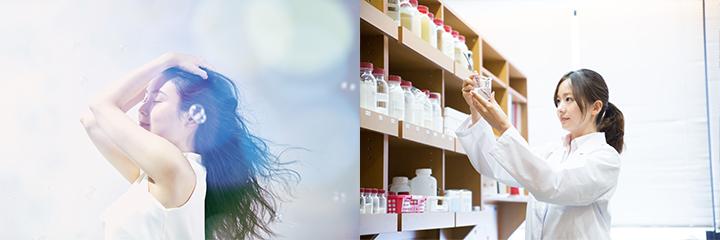 連載「肌美人を創るコスメ・サプリの研究開発に迫る」 イメージ
